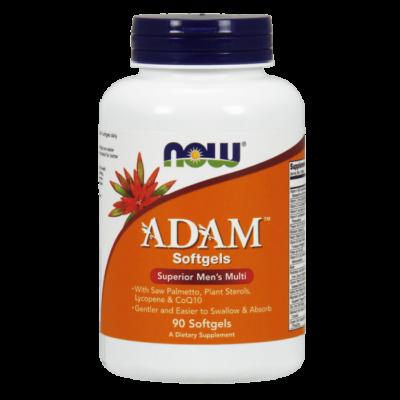 Now Adam Men's Multiple Vitamin - 90 Softgels