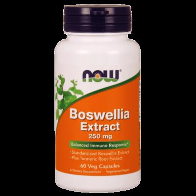 Now Boswellia Extract 250 mg Veg 60 Capsules