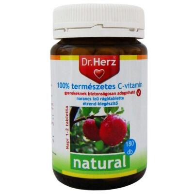 Dr. Herz 100% természetes C-vitamin Acerolából 180 db