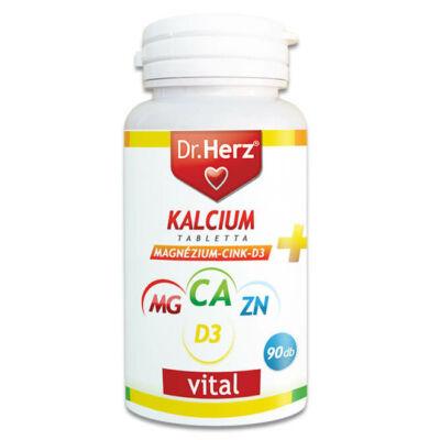 Dr. Herz Kalcium+Magnézium+Cink+D3 90db tabletta