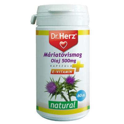Dr. Herz Máriatövismag Olaj 500 mg 60 db kapszula