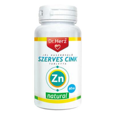 Dr. Herz Szerves Cink 60 db tabletta
