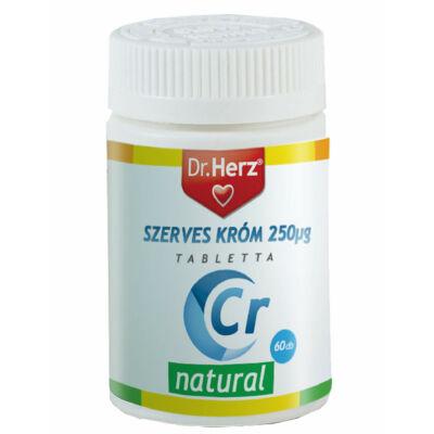 Dr. Herz Szerves Króm-pikolinát 250 µg 60 db tabletta