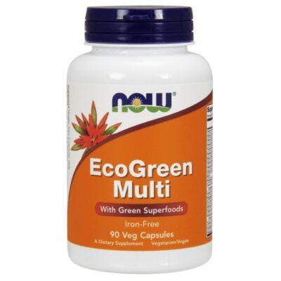 NOW Vegan Multi vitamin 90 kapszula - EcoGreen Multi Vitamin