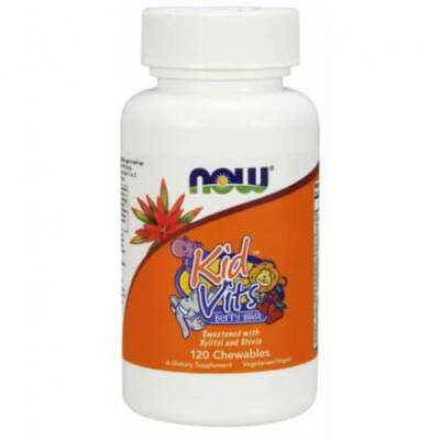 NOW gyerek multi vitamin rágótabletta 120 db - Kid Vits Berry Blast - 120 Chewables