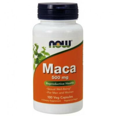Now Maca 500 mg 100 kapszula