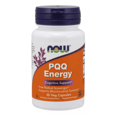 Now PQQ Energy 30 Veg Capsules