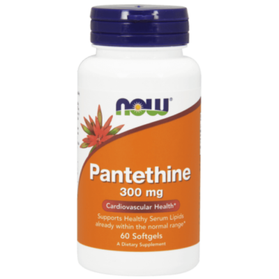 Now Pantethine 300 mg - 60 Softgels
