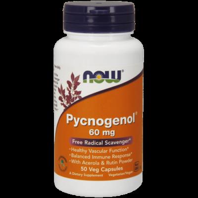 Now Pycnogenol® 60 mg - 50 Veg Capsules