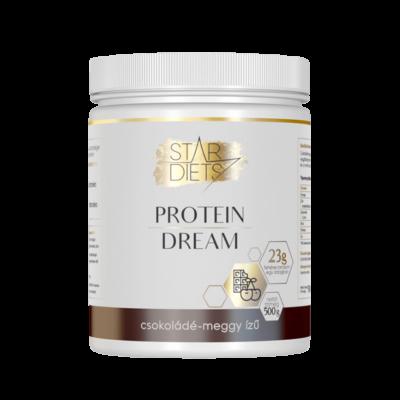 StarDiets Protein Dream fehérje – Csokoládé-meggy ízű 500g