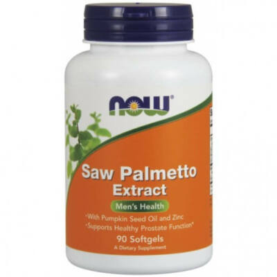Now Saw Palmetto Extract 80 mg - 90 Softgels
