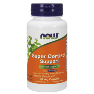 Now Super Cortisol Support with Relora® 90 Veg Capsules