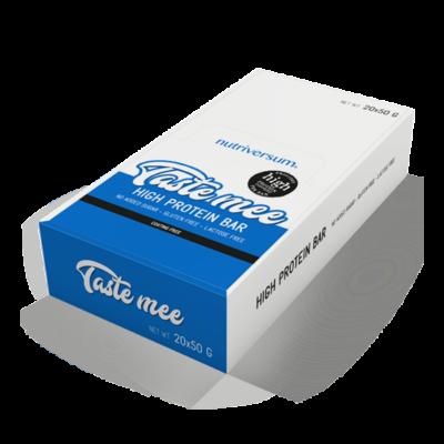Nutriversum Taste Mee Protein Bar - Több ízben - csokoládé-málna 20x50 g