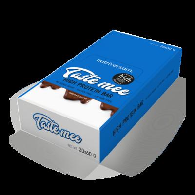 Nutriversum - Taste Mee Protein Bar - DESSERT - Több ízben 20x60 g (csoki bevonatos)