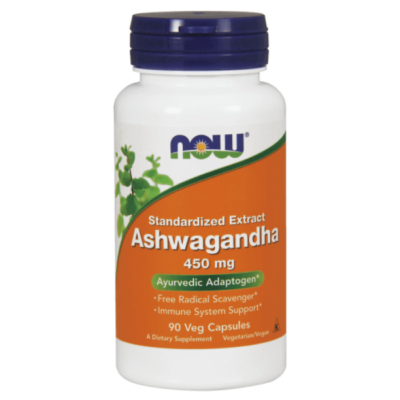 NOW Ashwagandha Extract 450 mg - 90 veg kapszula