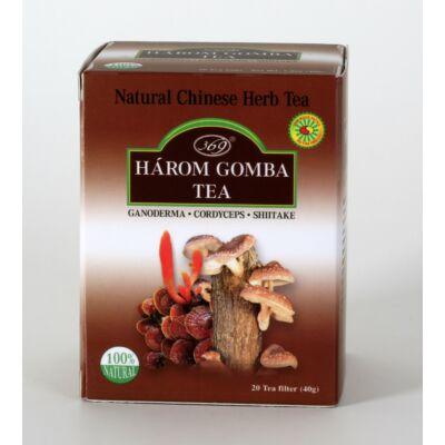 Big Star Három gomba tea