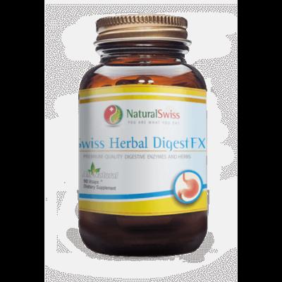 Swiss Herbal DigestFX Ingyenes kiszállítás