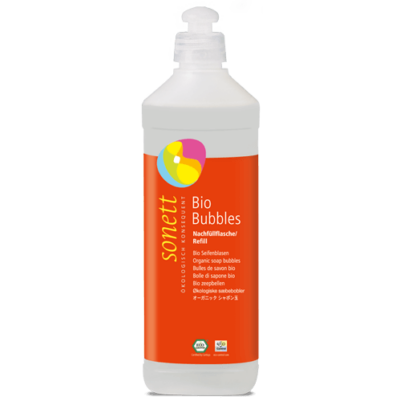 Sonett Bio szappanbuborék utántöltő 0,5 l