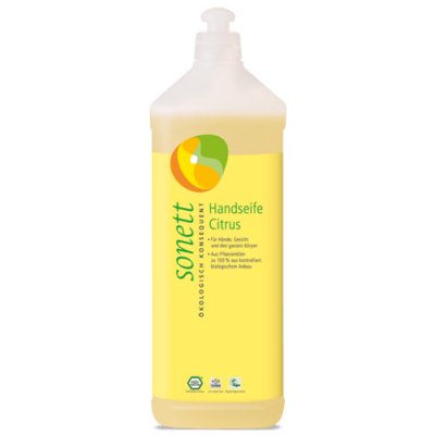 Sonett Folyékony szappan – citrom 1 liter
