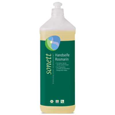 Sonett Folyékony szappan – rozmaring 1 l