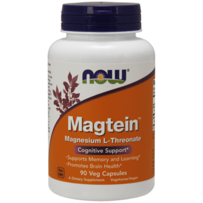 Now Magtein™- 90 Veg Capsules