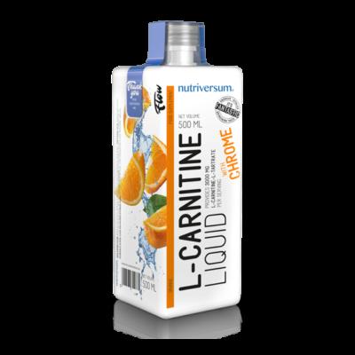 Nutriversum FLOW L-Carnitine 3000 mg Több ízben  500 ml