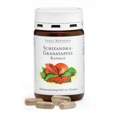 Sanct Bernhard Schizandra-Gránátalma 90db kapszula