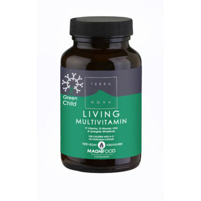 Living Multivitamin Green Child 100 db Terranova