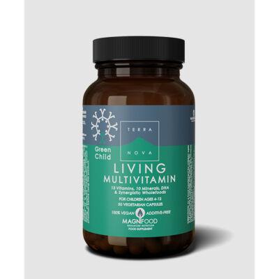 Living Multivitamin Green Child 50 db Terranova