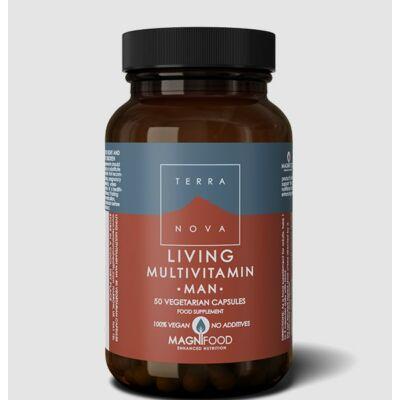 Living Multivitamin Man 50 db Terranova