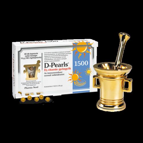 Pharma Nord-D-Pearls D-vitamin gyöngyök 1500
