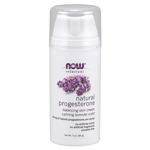 NOW Natural Progesterone Balancing Skin Cream with Lavender
