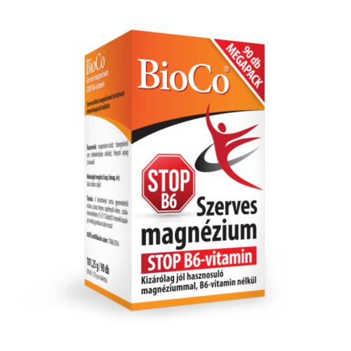BioCo Szerves Magnézium STOP B6 90 db Megapack