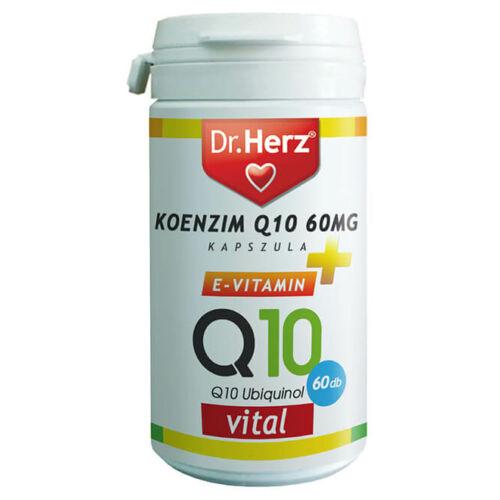 Dr. Herz Koenzim Q10 60 mg kapszula 60 db