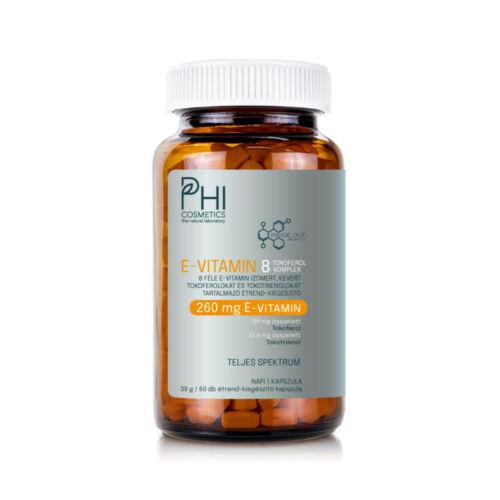 Phi Inside Out Beauty - E-Vitamin 8 Tokoferol Komplex (60db)