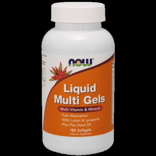 NOW Liquid Multi Gels - 180 Softgels