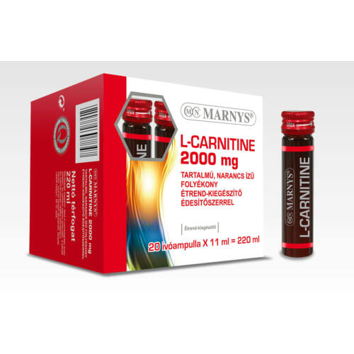 MARNYS L-CARNITINE 2000 mg TARTALMÚ, NARANCS ÍZŰ