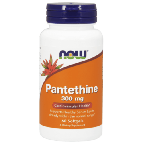 Now Pantethine 300 mg - 60 Softgels