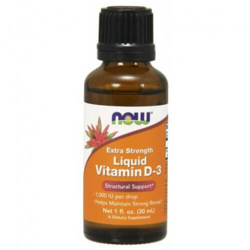 NOW D3 csepp 30 ml. Liquid Extra Strength