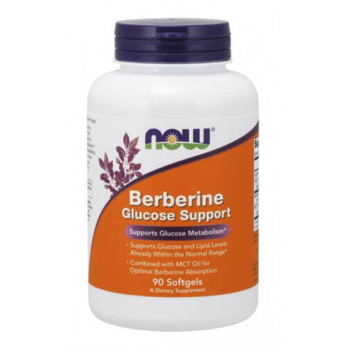 Now Berberine Glucose Support 90 Softgels
