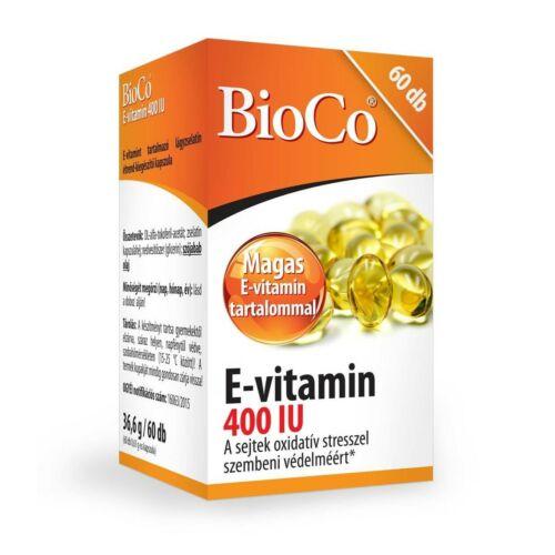 BioCo E-vitamin 400 IU 60 db
