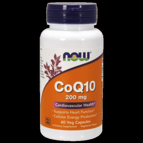 Now CoQ10 200 mg - 60 Veg Capsules