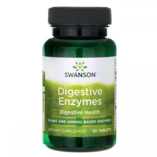 Swanson Digestive Enzymes (emésztő enzimek – 90 tabletta)