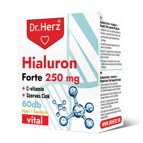 Dr.  Herz Hialuron Forte 250 mg 60 db kapszula