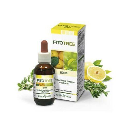 Natur Tanya FitoTree Baktériumölő, fertőtlenítő grapefruit, teafa, rozmaring és kakukkfű olaj  - Külsőleg/Belsőleg! 30 ml