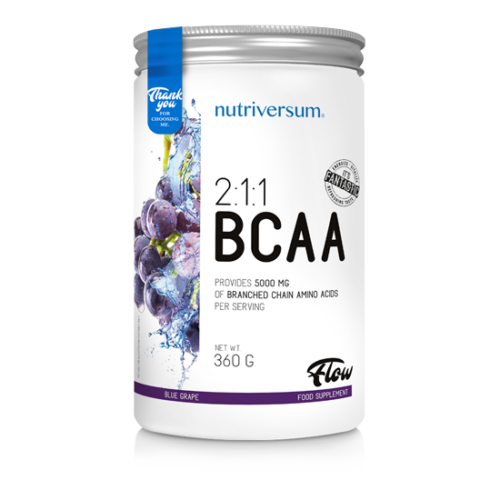 Nutriversum 2:1:1 BCAA - FLOW - kékszőlő  360 g