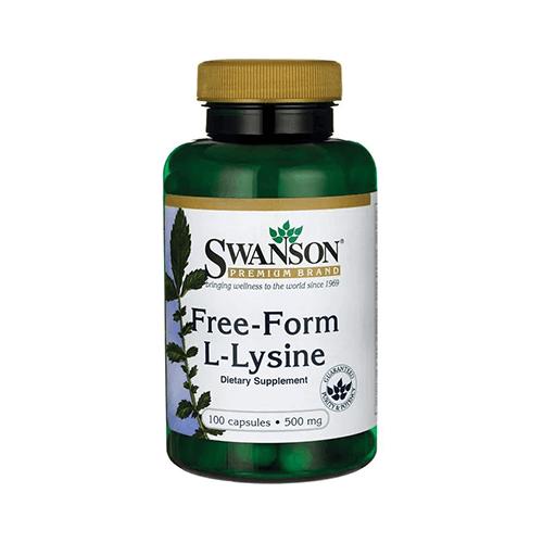 Swanson L-Lizin (szabad formájú)  500 mg / 100 db