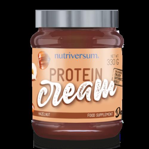 Nutriversum -Protein Cream - 330 g - Dessert - Csokoládé-mogyoró
