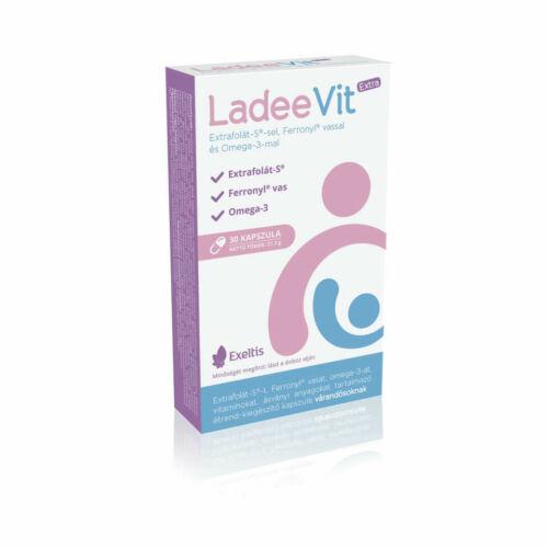 LadeeVit Extra Extrafolát S-sel, Ferronyl vassal és omega-3-mal