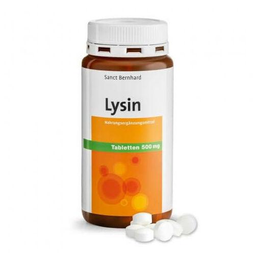 Sanct Bernhard Lysine tabletta 500 mg 180 db